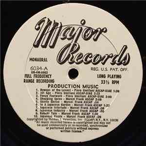 Piero Umiliani / Marcel Frank / Bill Potts - Production Music FLAC album