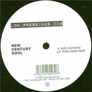 New Century Soul - Solo Moments / Three Steps Back FLAC album