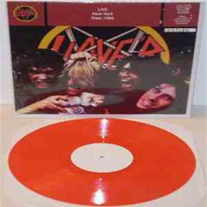Slayer - Live New York Riatz 1986 FLAC album