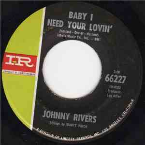 Johnny Rivers - Baby I Need Your Lovin' FLAC album