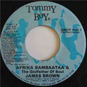 Afrika Bambaataa & The Godfather Of Soul James Brown - Unity FLAC album